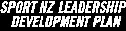 pjuna leadership development plan